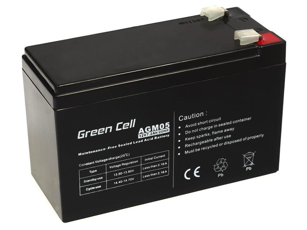 Green Cell AGM01 6V 12Ah 20HR