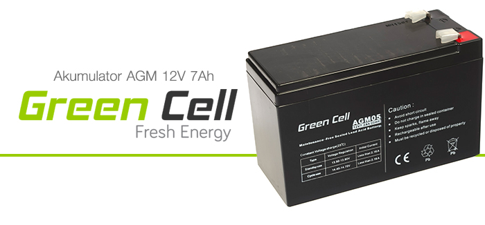 AGM Green Cell 12V 7.2Ah Fresh Energy