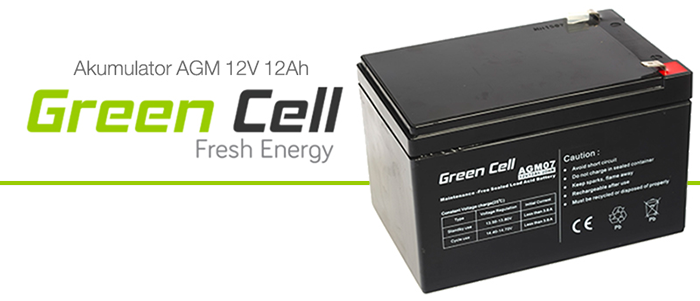 AGM Green Cell 12V 12Ah Fresh Energy