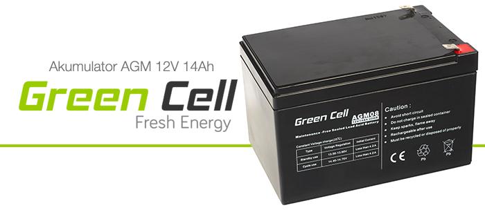 AGM Green Cell 12V 14Ah Fresh Energy