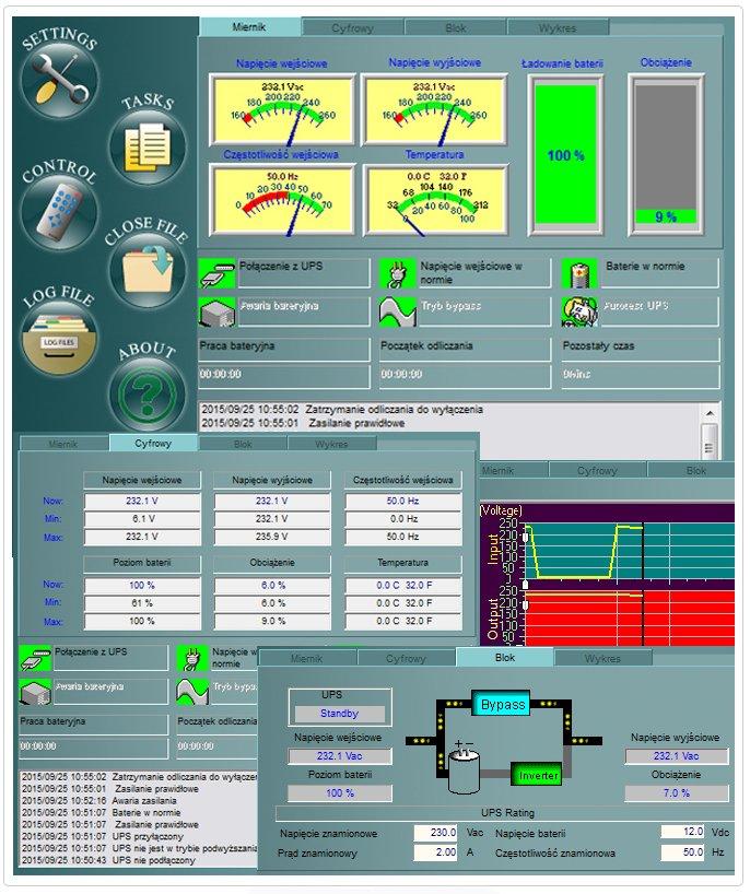 Oprogramowanie UPSilon 2000