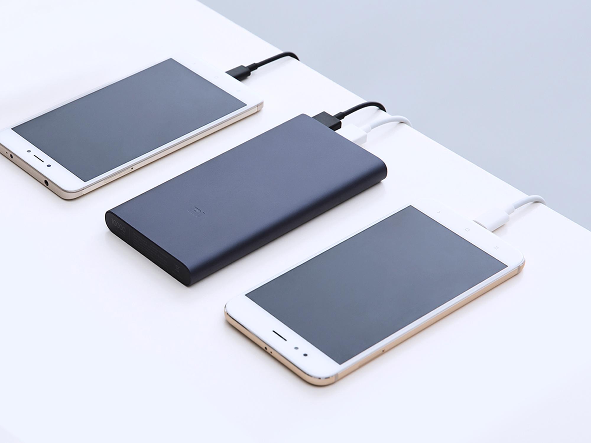 Naładuj dwa urządzenia naraz szybciej niż kiedykolwiek Nowy model Xiaomi 2i mAh