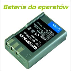 Instrukcja użytkowania baterii do aparatów